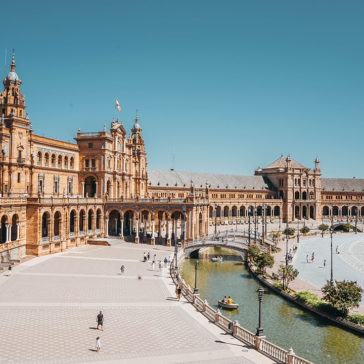 To Seville by private jet