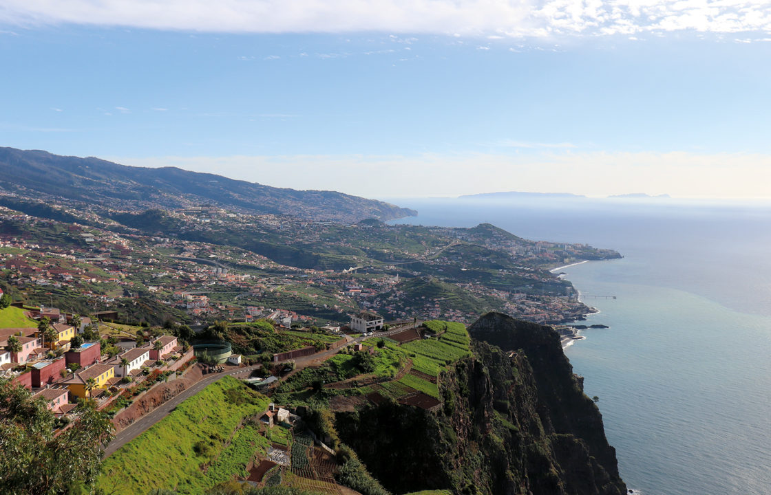 To Madeira by private jet